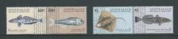 Australian Antarctic Territory 2006 Fish Set Of 2 Pairs MNH - Unused Stamps