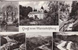 AK Gruß Vom Mariahilfberg - Mehrbildkarte - 1962 (44846) - Gutenstein