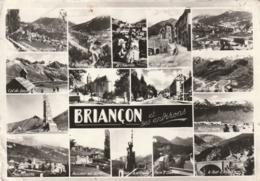 Carte Postale Des Années 50-60 Des Hautes-Alpes - Briançon Et Ses Environs - Vues Multiples - Briancon