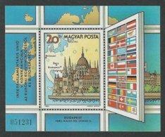 HUNGARY / HUNGRIA /UNGARN / HONGRIE –1983 –KSZE–BUDAPEST 5ª Conference-BLOCK**.-Mi. BLOCK 163 A-Yvert BF166 - European Ideas