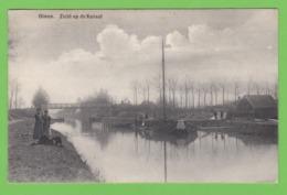 OLMEN   -   Zicht Op De Kanaal - België