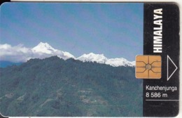 CZECH REPUBLIC - Himalaya/Kanchenjunga - 8586 M, Tirage 90000, 09/94, Used - Landschaften