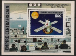 Centrafricaine - 1977 - Bloc Feuillet BF N°Yv. 18 - Opération Viking - Neuf Luxe ** / MNH / Postfrisch - Centraal-Afrikaanse Republiek