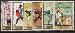 Guinée - 1964 - N°Yv. 217 à 222 - Olympics / Tokyo 64 - Neuf Luxe ** / MNH / Postfrisch - Ete 1964: Tokyo