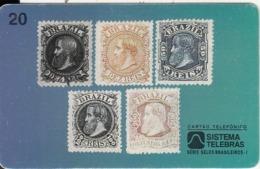 BRAZIL(Sistema Telebras) - Stamps, 08/97, Used - Francobolli & Monete