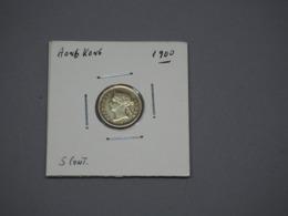 Hong Kong; Prata 5 Centimes 1900 Victoria - Hong Kong