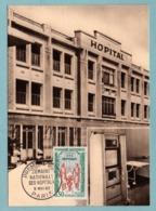 Carte Maximum 1962 - Semaine Nationale Des Hôpitaux - YT 1339 - Paris - Maximum Cards