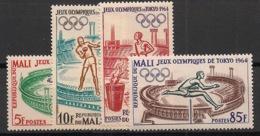 Mali - 1964 - N°Yv. 63 à 66 - Olympics / Tokyo 64 - Neuf Luxe ** / MNH / Postfrisch - Ete 1964: Tokyo