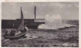 AK Stolpmünde - Ustka - Rettungsboot Im Sturm - 1942 (44858) - Pommern