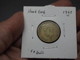 Hong Kong; 10 Centimes 1949 - Hong Kong