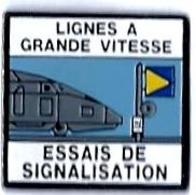 EQUIPEMENT - E227 - LIGNES A GRANDE VITESSE - ESSAIS DE SIGNALISATION - Erso : LYON COUPES INTER - TGV