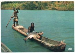 AFRIQUE EN COULEURS - PECHE AU CAPITAINE / FISHING / WITH COTE D'IVOIRE STAMP - Costa D'Avorio