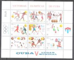 422  Judo - Baseball  - Volleyball - Yv 3243-51 Minisheet - MNH - Cb - 5,25 (18)  S10 - Judo