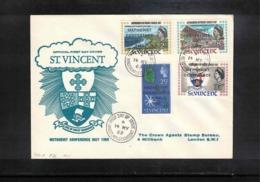 St. Vincent 1969 Methodist Conference FDC - St.Vincent (...-1979)