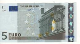"5 EURO  ""X""  Germany     Duisenberg     P 009 J1  X12   /  FDS - UNC - EURO"