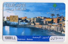 LIBAN TELECARTE BATROUN BAHSA Année 2008 - Libanon