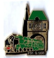 VAPEURS - V68 - LOCO A VAPEUR 231 G 558 - Verso : SM - TGV
