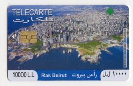 LIBAN TELECARTE RAS BEIRUT Année 2010 - Líbano