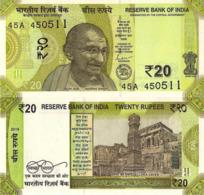 INDIA 20 RUPEES 2019, P110, UNC - India