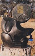 Télécarte à Puce Afrique ZIMBABWE - SCULPTURE / Zim 38 - Africa Chip Phonecard Telefonkarte - Simbabwe