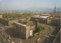 TORINO - PIAZZA CASTELLO PALAZZO MADAMA TEATRO REGIO ARMERIA REALE MOLE ANTONELLIANA E COLLE DI SUPERGA - VIAGGIATA 2000 - Places