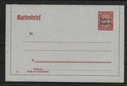 Bayern Ganzsache Kartenbrief - Bayern (Baviera)
