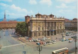 TORINO - PIAZZA CASTELLO - AUTO D'EPOCA CAR VOITURES - CITROEN DS SQUALO FIAT 500 - NON VIAGGIATA - Places