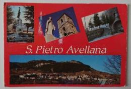 SAN PIETRO AVELLANA - Isernia - Vedutine - Vg - Isernia