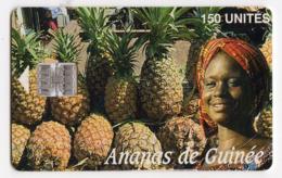 GUINEE TELECARTE REF MV CARDS GUI-15  ANANAS DE GUINEE - Guinea