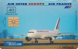 Télécarte à Puce NEUVE NSB - PORTUGAL - AVION AIR FRANCE AIR INTER - AIR PLANE MINT Chip Phonecard - Avions