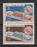 SAINT PIERRE ET MIQUELON 1970 YT N° 399 Et 400 ** - St.Pedro Y Miquelon