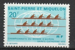 SAINT PIERRE ET MIQUELON 1970 YT N° 405 ** - St.Pedro Y Miquelon