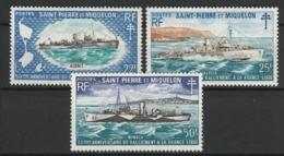 SAINT PIERRE ET MIQUELON 1971 YT N° 414 à 416 ** - St.Pierre & Miquelon