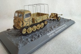 Miniature Militaire 1/72 - Raupenschlepper Ost / Steyr RSO 0/1 + Canon 7,5-cm PaK 40 - Normandie 1944 - Chars