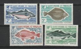 SAINT PIERRE ET MIQUELON 1972 YT N° 421 à 424 ** - St.Pedro Y Miquelon