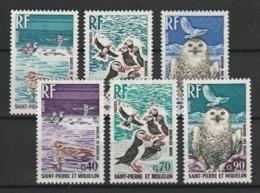 SAINT PIERRE ET MIQUELON 1973 YT N° 425 à 430 ** - St.Pierre Et Miquelon