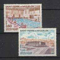 SAINT PIERRE ET MIQUELON 1973 YT N° 431 Et 432 ** - St.Pedro Y Miquelon