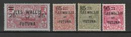 WALLIS ET FUTUNA 1924-27 YT N° 30, 32, 33 Et 34 ** - Unused Stamps