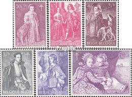 Belgique 1367-1372 (complète.Edition.) Neuf Avec Gomme Originale 1964 Peintures - Neufs