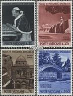 Vatikanstadt 442-445 (complète.Edition.) Neuf Avec Gomme Originale 1964 Pèlerinage - Ongebruikt