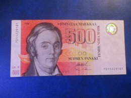 FINLAND 500 MK 1986 Litt.A FINE - Finlandia