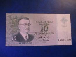 FINLAND 10 MK 1963 Litt.A REPLACEMENT AUNC - Finlandia