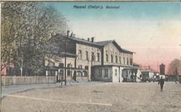 Memel   (  Prusse Orientale ) Bahnhof  ( Gare )   CPA 1921  (  Pour Gray  Haute Loire France ) - Litouwen