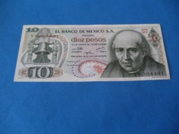 Billet 10 Pesos 1974 , Mexique - Mexique