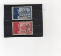 FRANCE   1942  Y.T. N° 565  566  Oblitéré - France