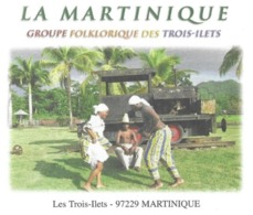 TROIS ILETS MARTINIQUE  - GROUPE FOLKLORIQUE, LOCOMOTIVE ANCIENNE, PAP ENTIER POSTAL CACHET MANUEL DUCOS 2010, A VOIR - Otros