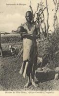 Missions Des Pères Blancs Afrique Centrale (Tanganika) Instrument De Musique   RV - Tanzania
