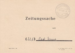 Zeitungssache 1960 Von Schweinfurt Nach Bad Ems - BRD