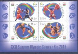 2016. Azerbaijan, Olympic Games Rio-de-Janeiro, 4v, Mint/** - Azerbaïdjan