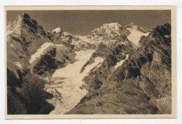 GLACIER DE L' HOMME - A GAUCHE LE PIC GASPARD - CPA NON VOYAGEE - Autres Communes